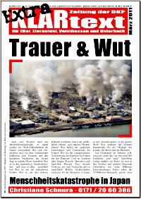 Faksimile: KLARtext Extra, März 2011.